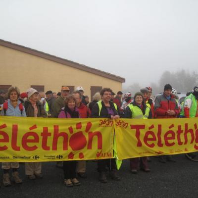 Téléthon organisé chaque année à Lavergne