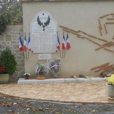 Monument aux morts - Lavergne